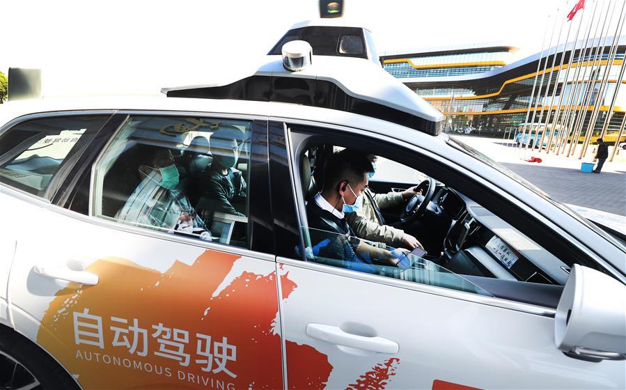 上海:探访智能网联汽车自动驾驶体验活动
