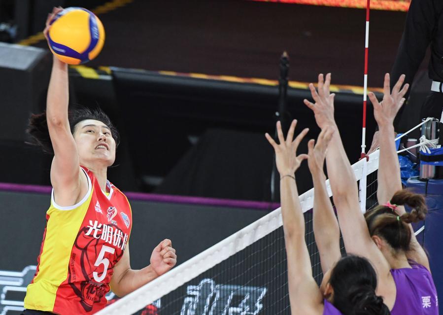 女排联赛:上海队获季军
