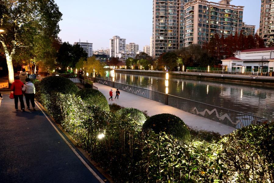 上海苏州河岸线公共空间贯通在即