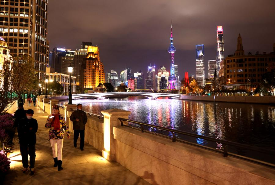上海苏州河滨水岸线基本贯通开放