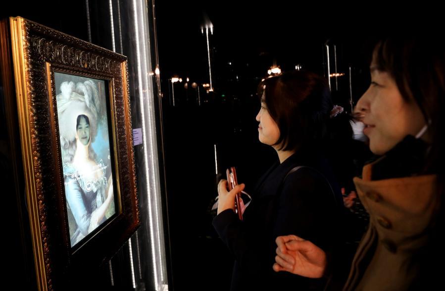 法國凡爾賽宮數字展在上海舉行