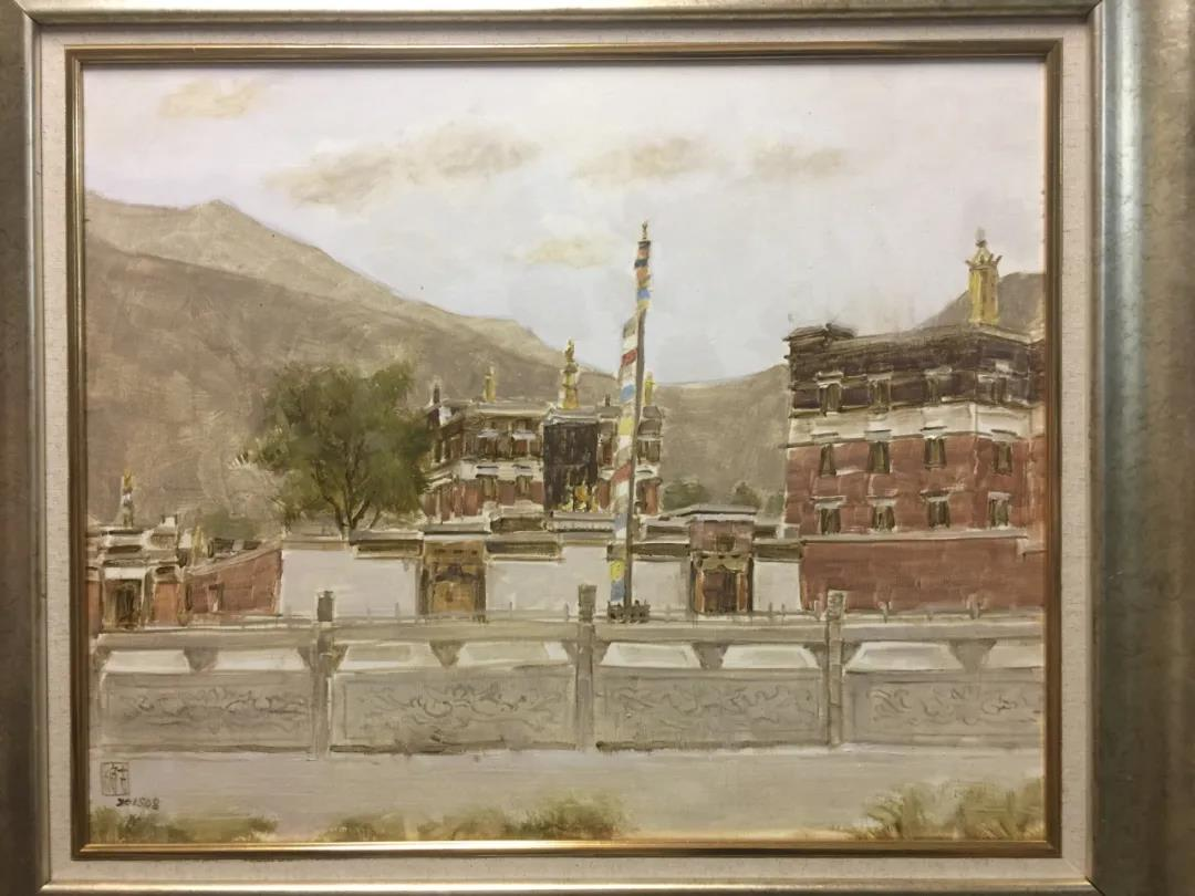 苏宁艺术馆举办甘南展 油画里的甘南风光什么样