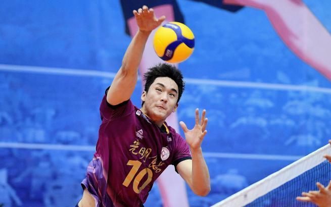 男排超级联赛:上海胜湖北