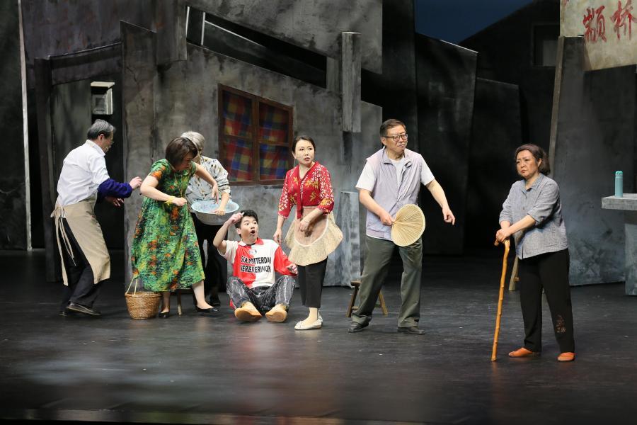 上海:原创话剧《老街》公演 讲述百姓旧改故事