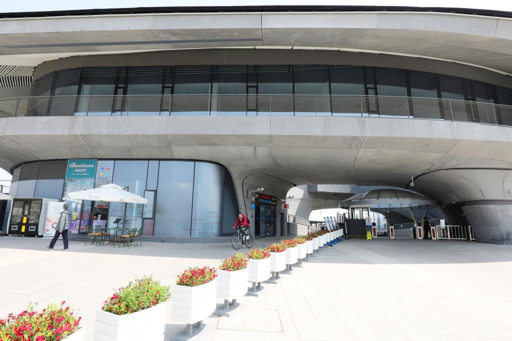 上海:滨江轮渡站 网红新地标