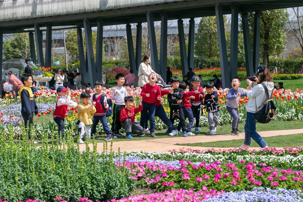上海:郊野公园乐享春光