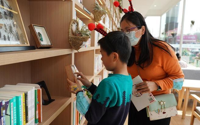 探访上海首家郊野公园书房