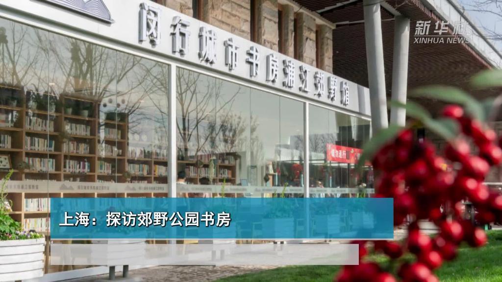 上海:探访郊野公园书房