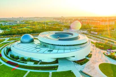 上海天文馆工程临近尾声