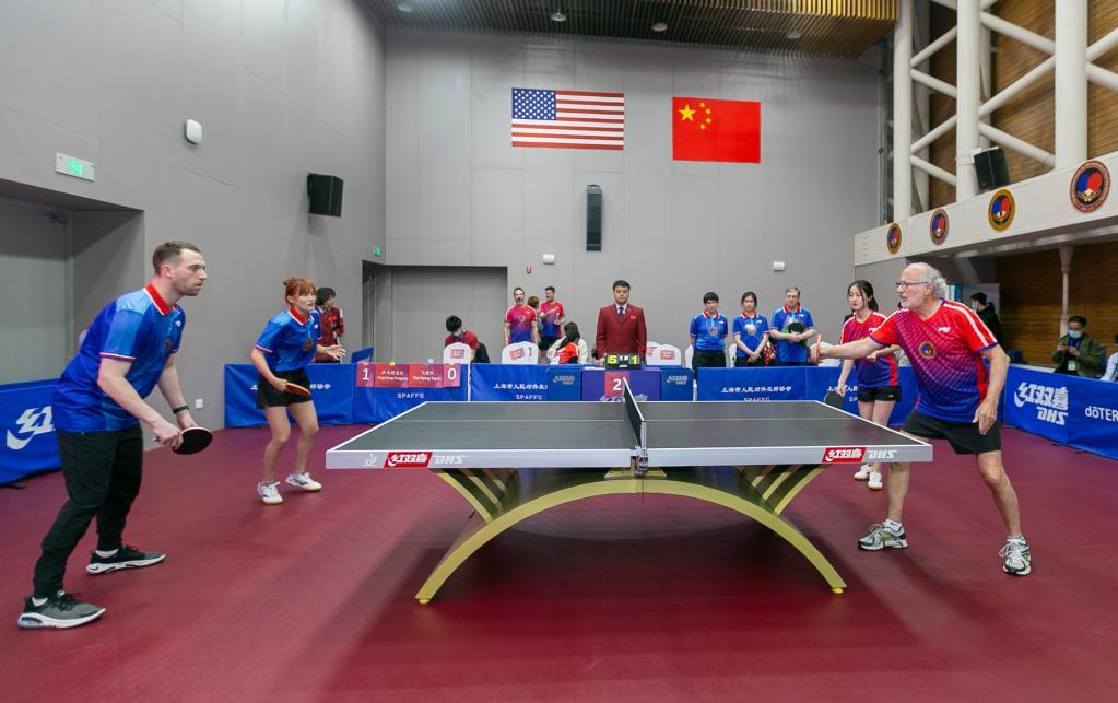 上海纪念中美乒乓外交50周年 崔天凯致辞徐寅生张燮林等名宿出席