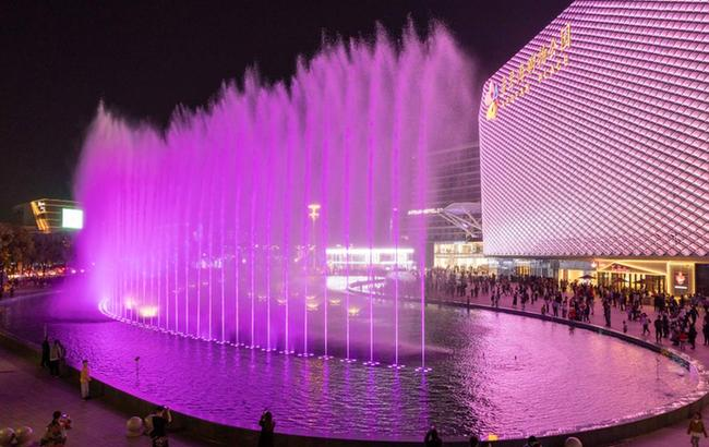 上海:灯光艺术节 点亮夜生活