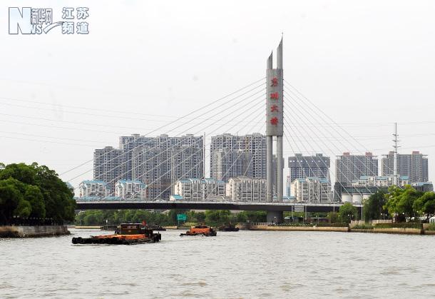 无锡 上海/京杭运河无锡段扩容 千吨级船舶畅行无阻