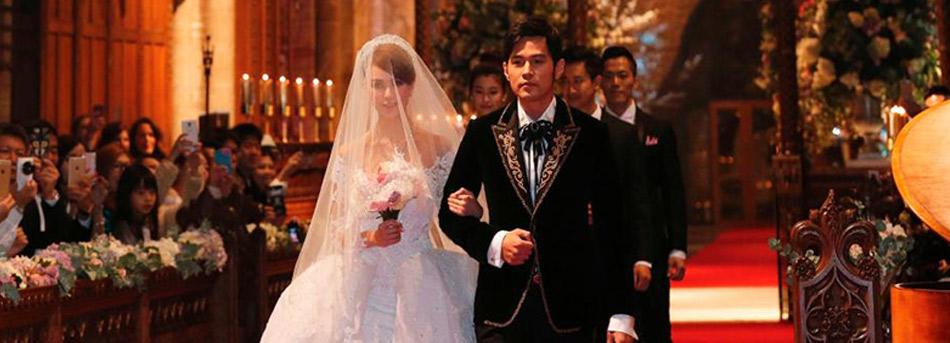 周杰伦英国提前举行古堡婚礼